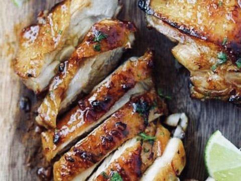 brochette de poulet thym citron