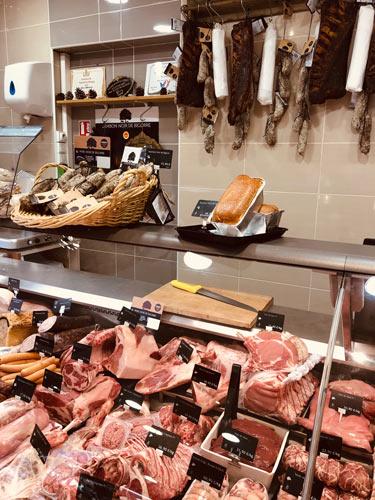 étalage boucherie aix en provence